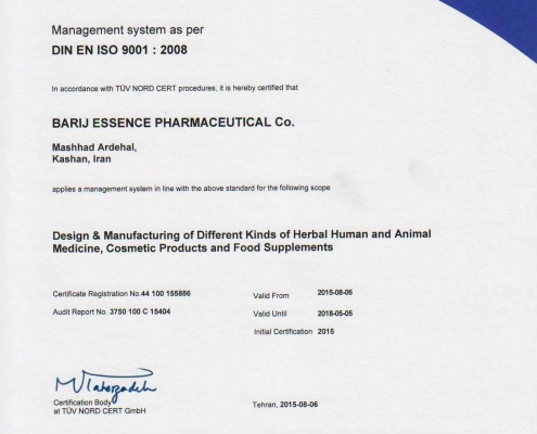 Barji Essence Pharmaceutical Co