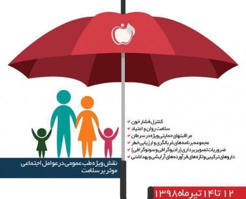 پانزدهمین برنامه جامع علمی فصلی انجمن پزشکان عمومی ایران