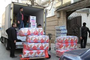 ارسال کمکهای شرکت داروسازی باریجاسانس به سیلزدگان سیستانوبلوچستان